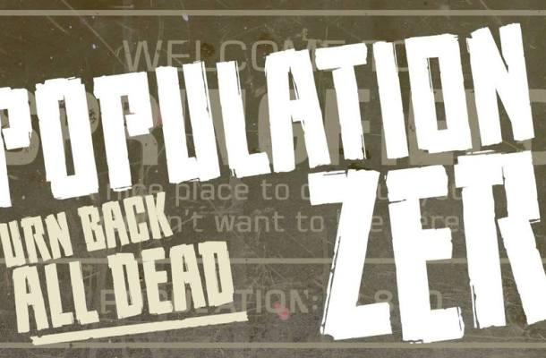 Population Zero BB Font