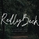 Reilly Beck Signature Font
