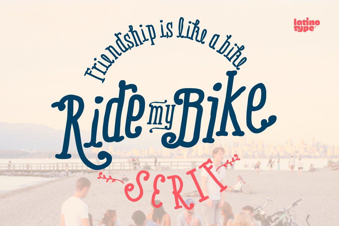 Ride-My-Bike-Font