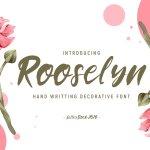 Rooselyn Brush Font