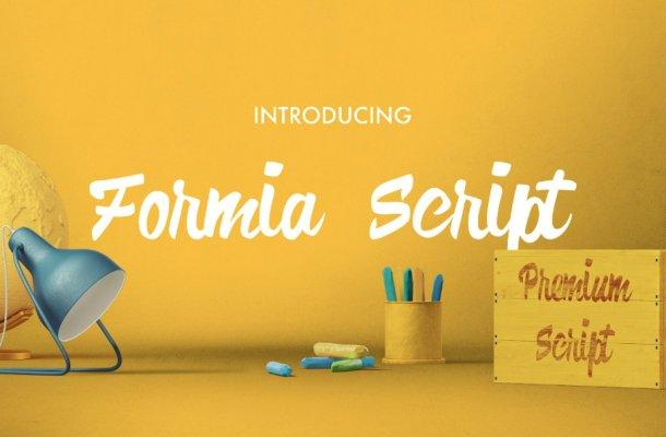 Formia Script Font