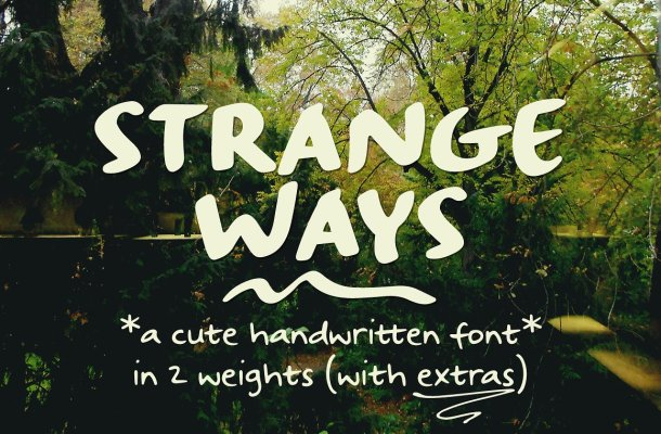 Strangeways Sample Font