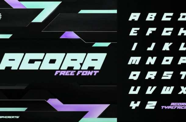 Agora Free Font