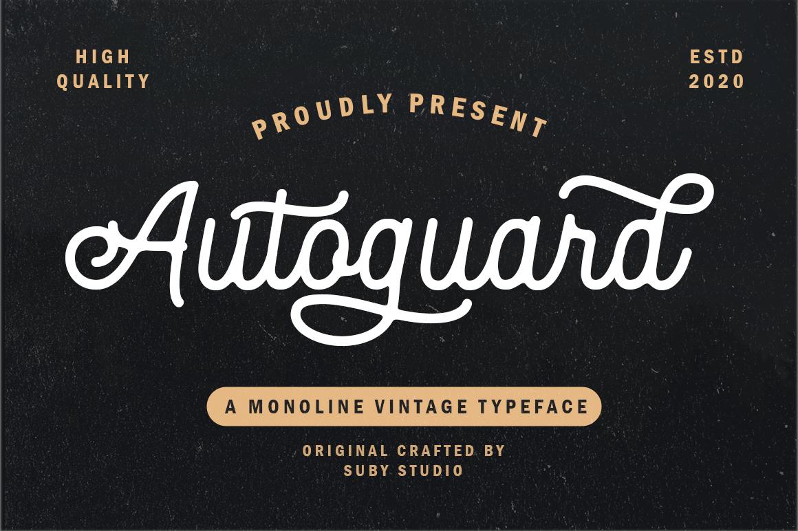 Autoguard-Font