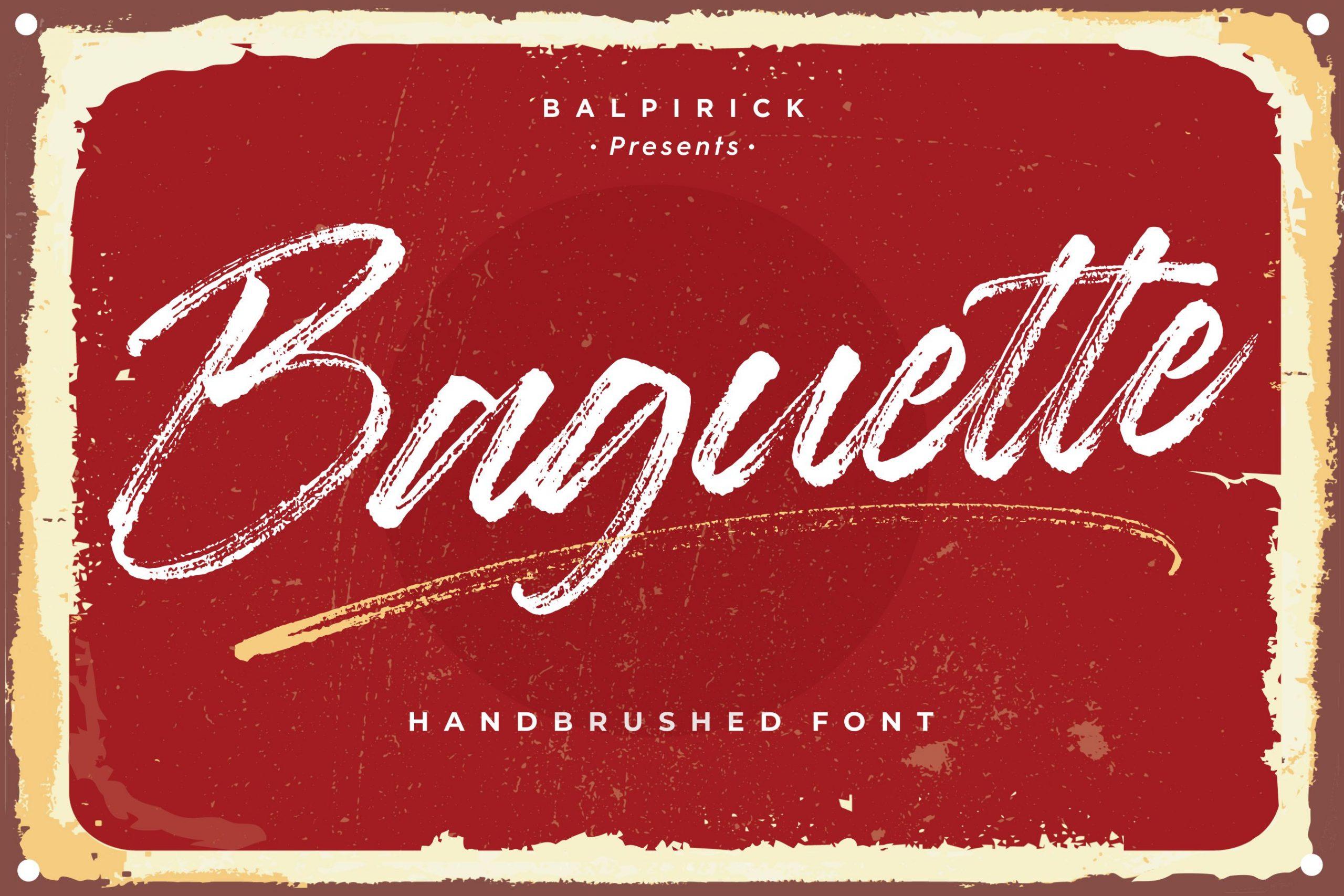 Baguette-Font