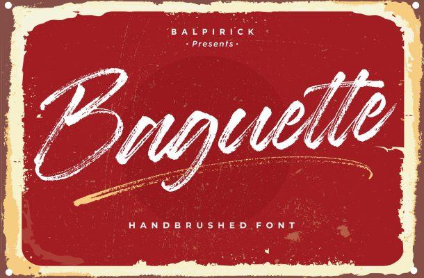 Baguette Font