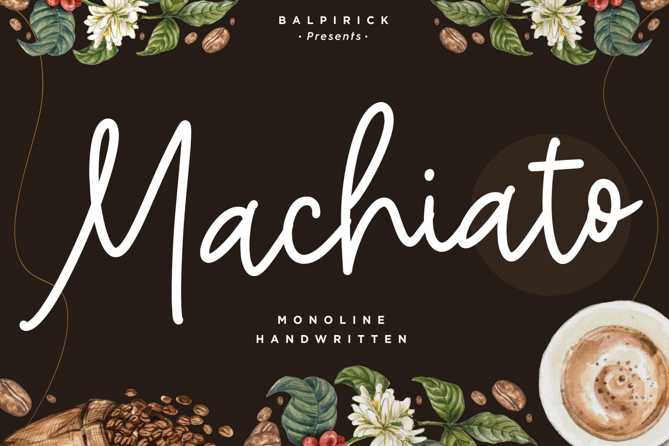 Machiato-Font
