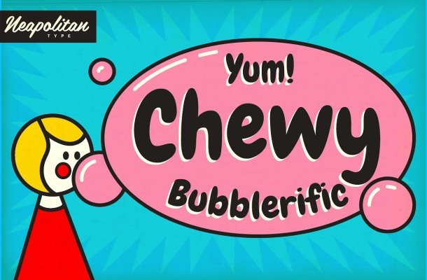 Chewy Pro Font
