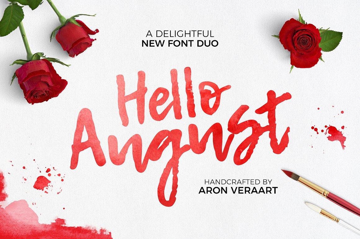 Hello-Augus-Font
