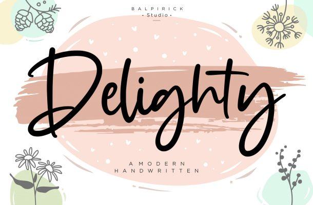 Delighty Font