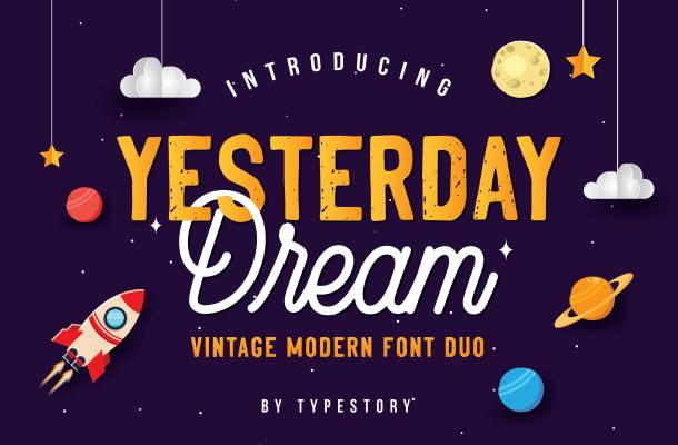 Yesterday Dream Font