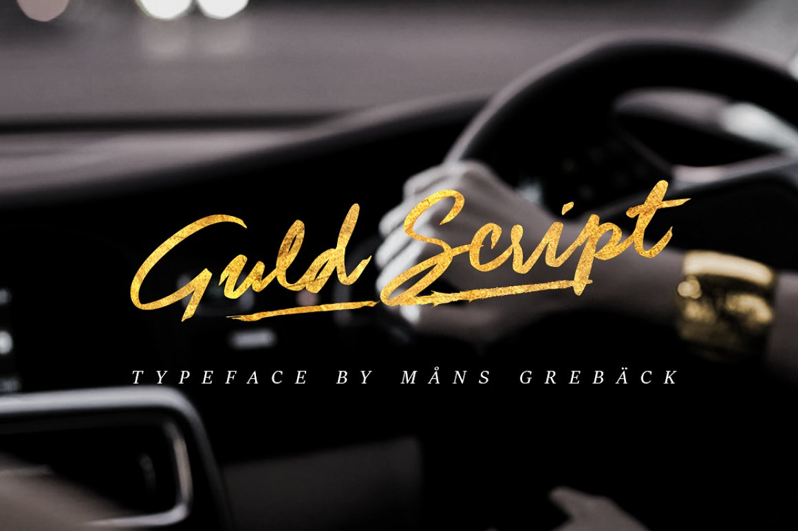Guld-Script-Color-Font