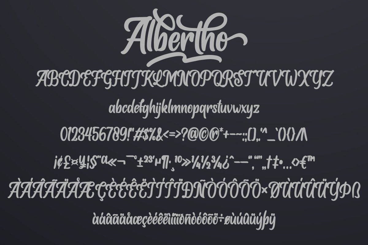 Albertho-Bold-Script-Font-3