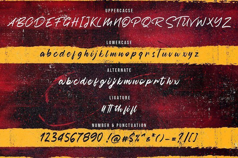 Austhind-Brush-Font-3