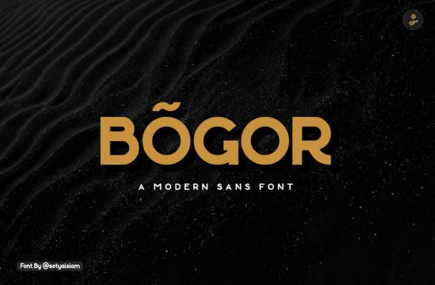 Bogor Font