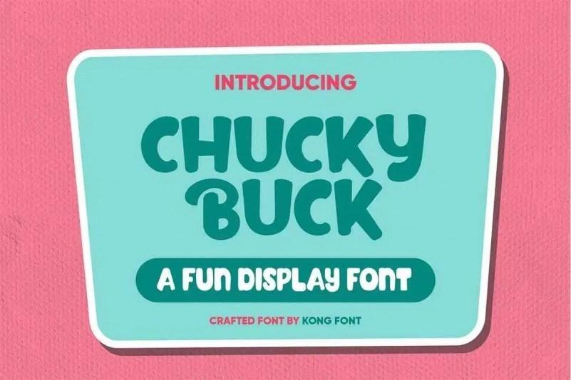 Chucky-Buck-Fun-Display-Font-1