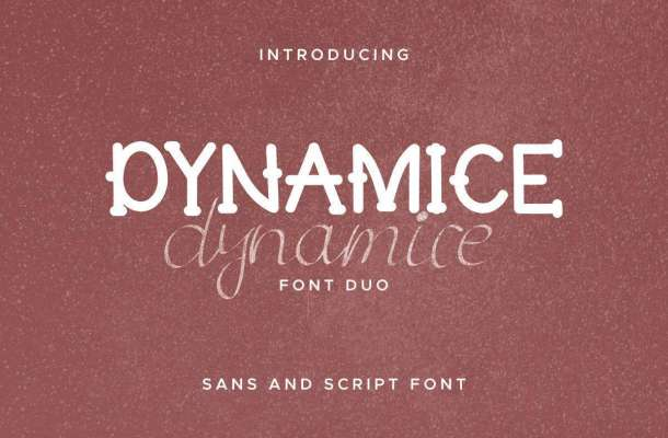 Dynamice Font Duo