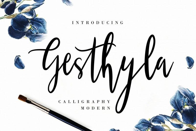 Gesthyla-Calligraphy-Script-Font-1