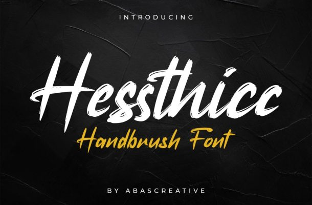Hessthicc Font
