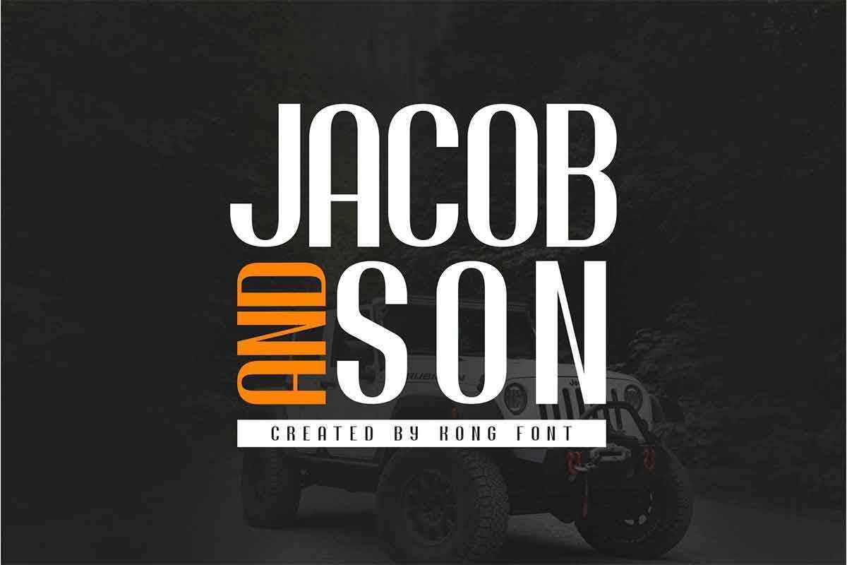 Jacob-And-Son-Sans-Serif-Font-1