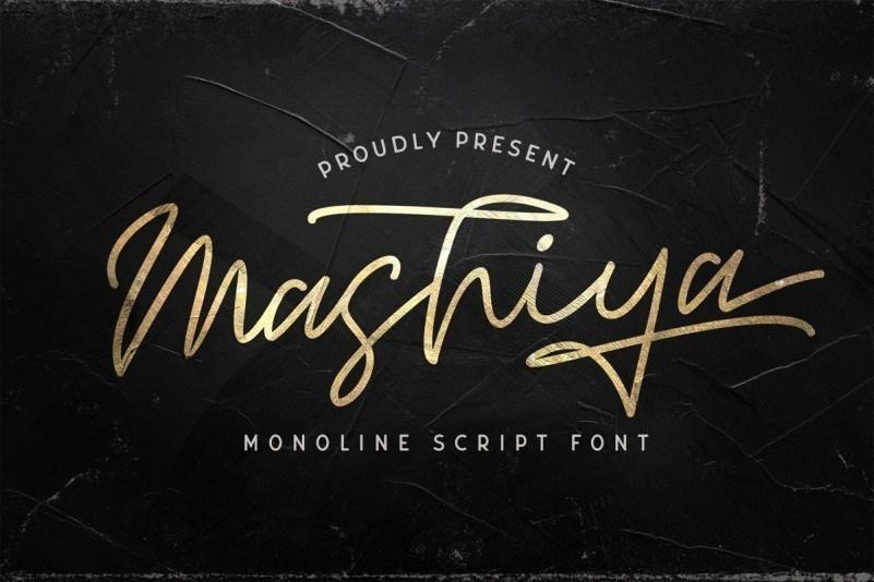 Mashiya-Font-1