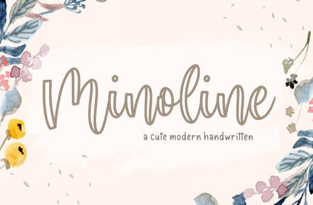 Minoline Font