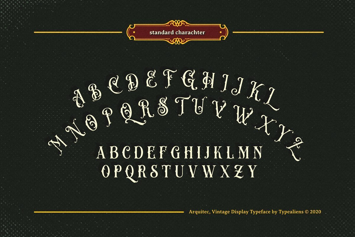 Arquitec-Vintage-Display-Font-4