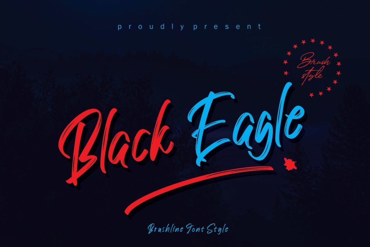 Black-Eagle-Brush-Script-Font-1