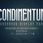 Condimentum Display Font