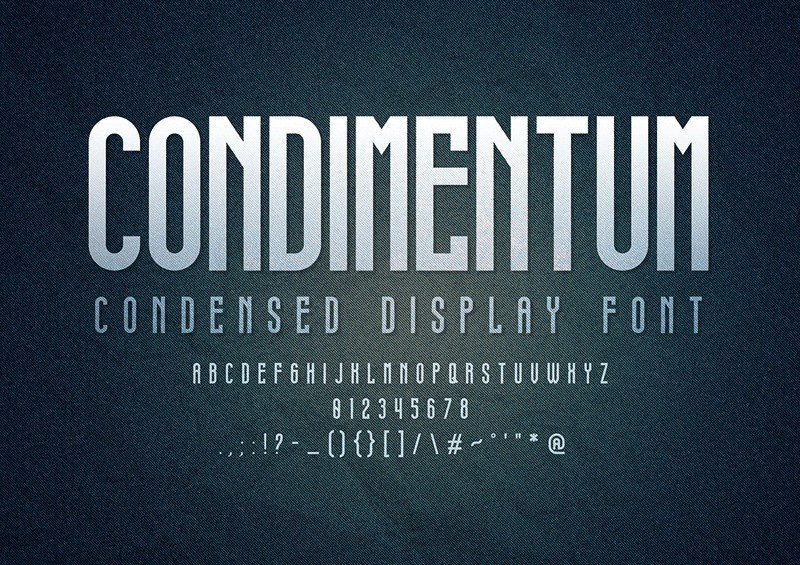 Condimentum-Display-Font-2