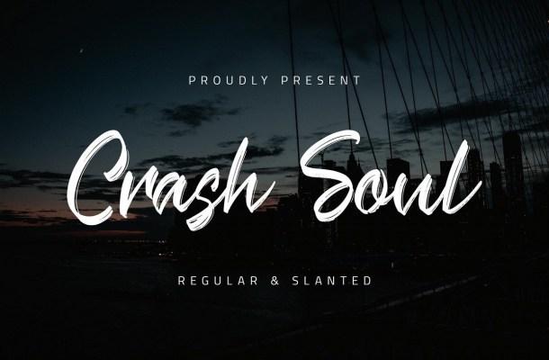 Crash Soul Brush Script Font