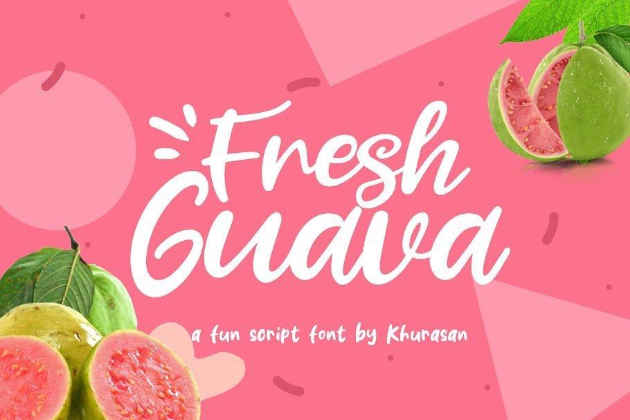 Fresh-Guava-Bold-Script-Font-1
