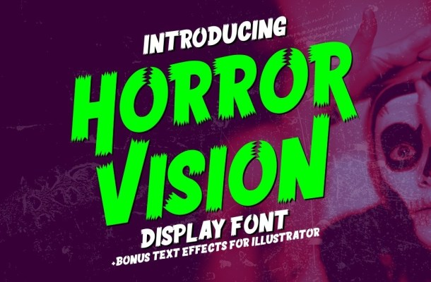Horror Vision Font