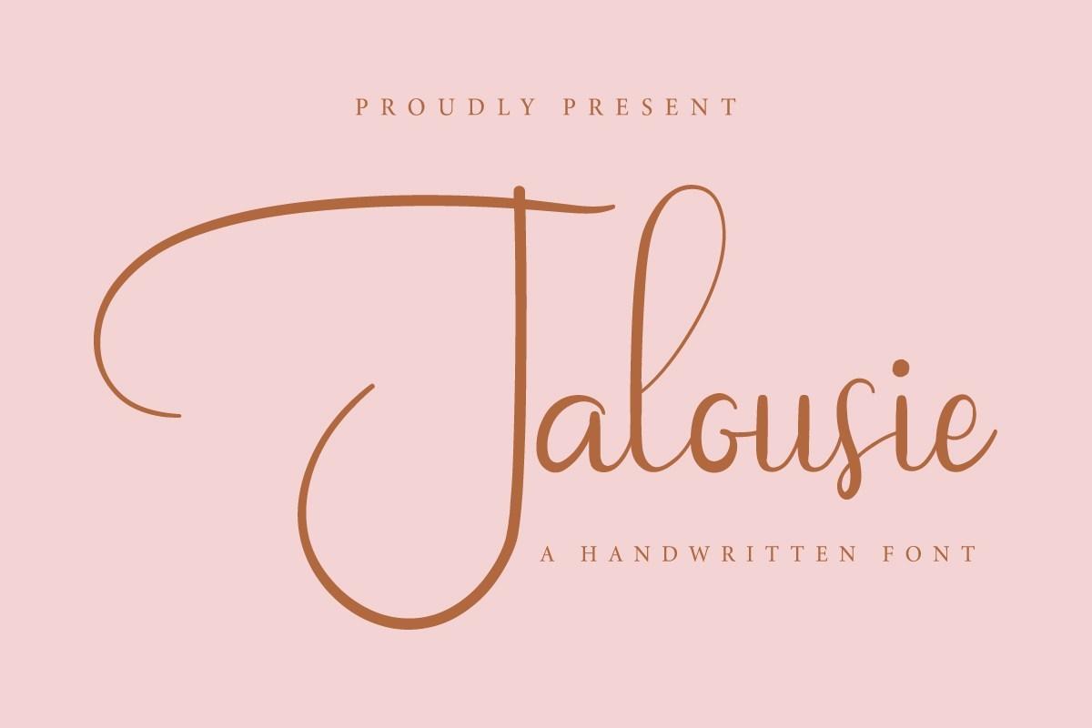 Jalousie-Calligraphy-Script-Font-1