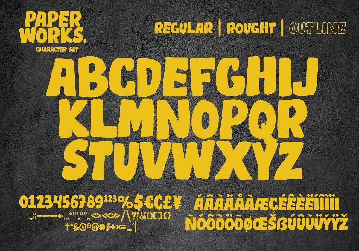 Paper-Works-Display-Font-3