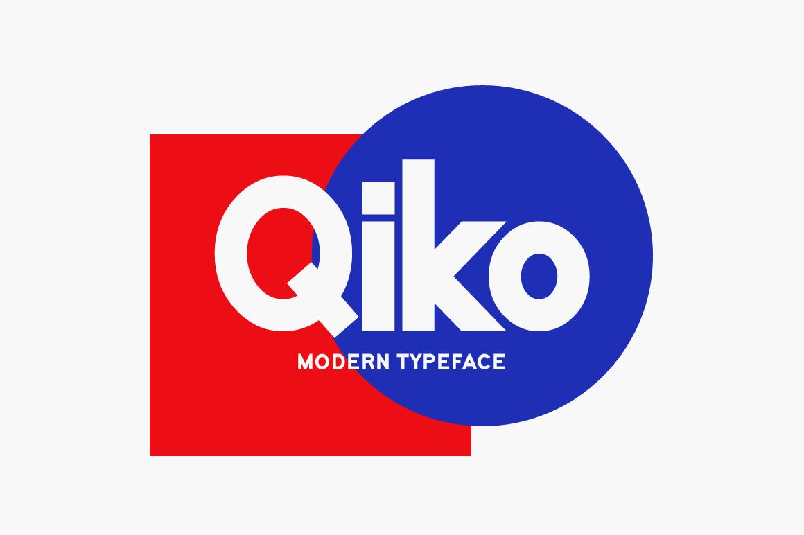 Qiko-Font
