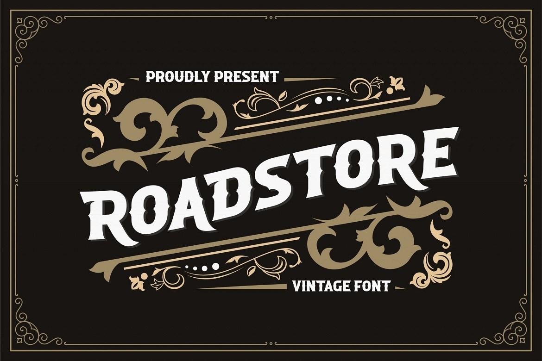 Roadstore-Vintage-Display-Font-1