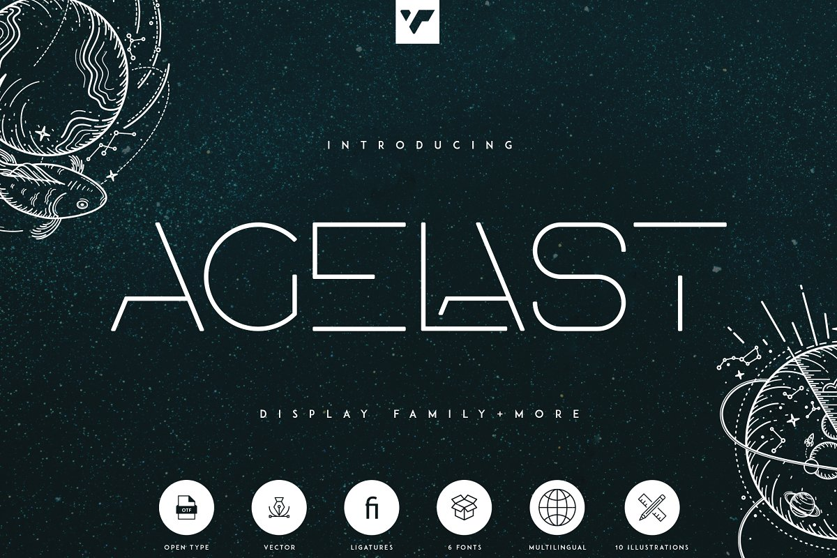 Agelast-Display-Family-Font
