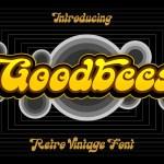 Goodbees Display Font
