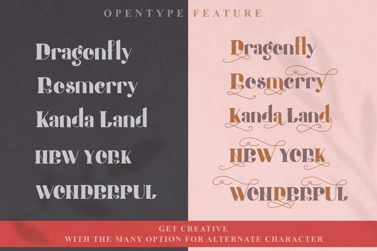 Honey-Batterfly-Display-Font-3
