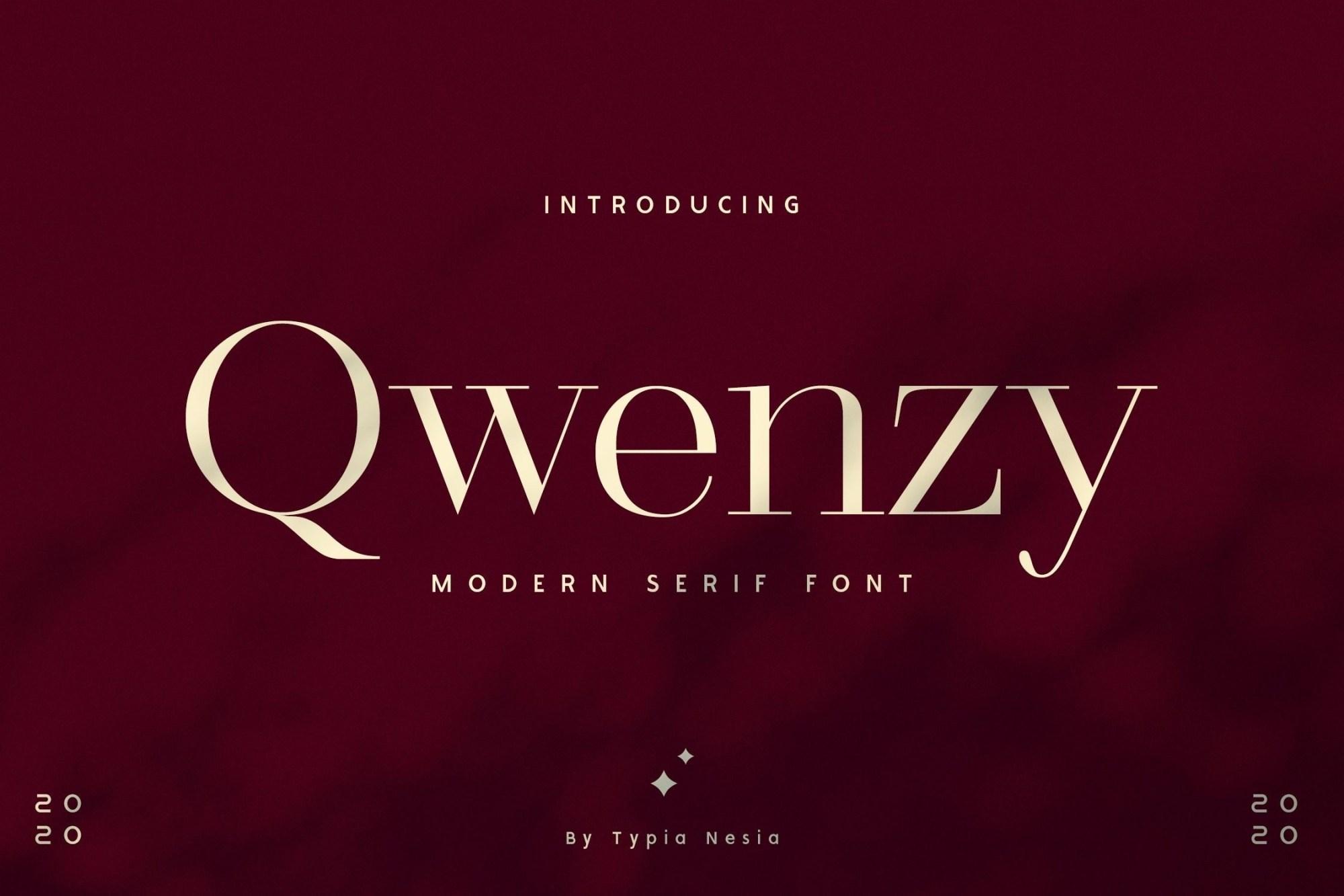 Qwenzy-Modern-Serif-Font-1-1