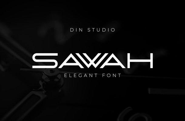 Sawah Font