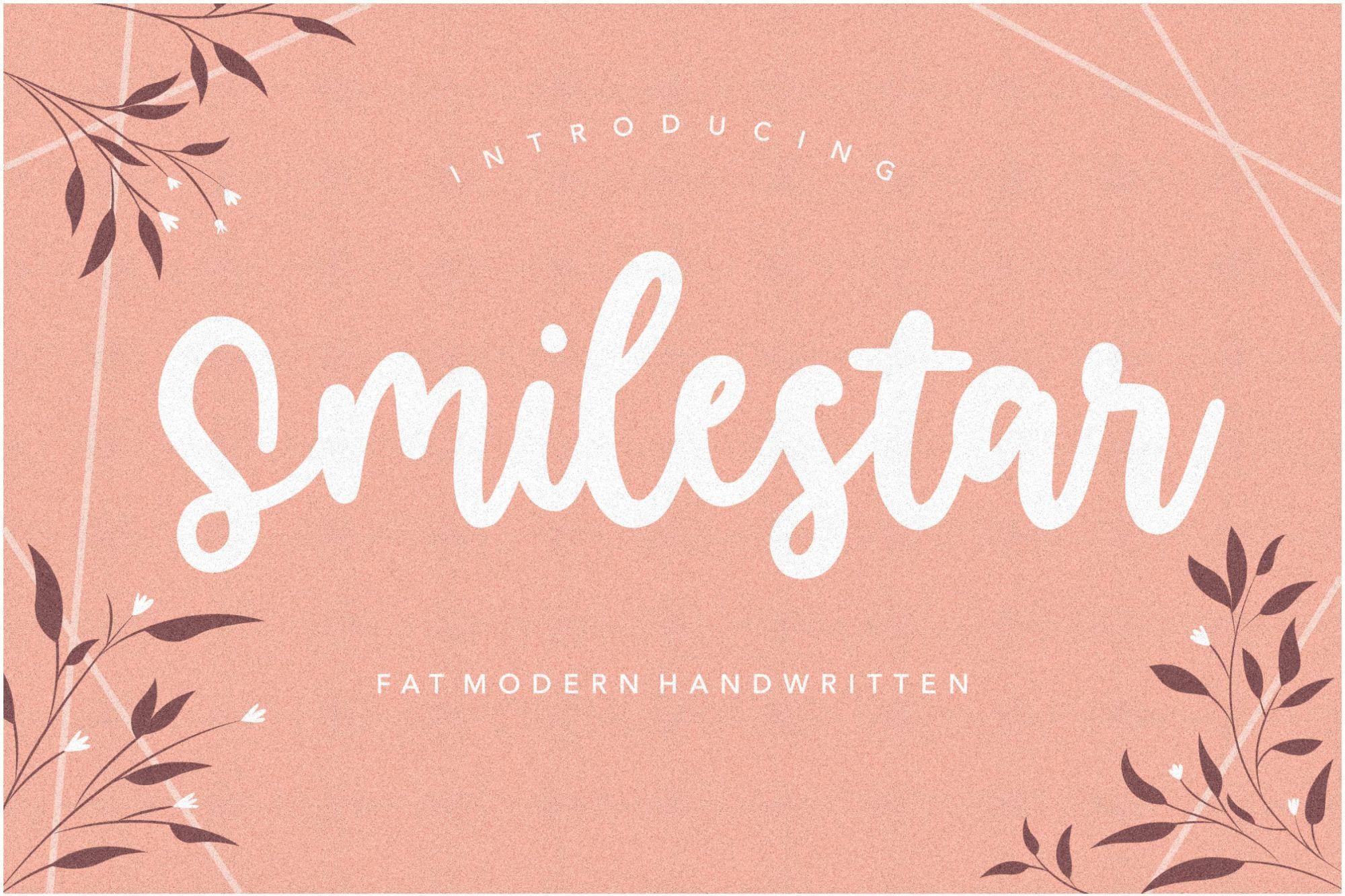 Smilestar-Bold-Handwritten-Font-1