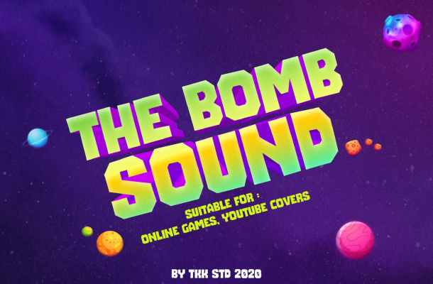 The Bomb Sound gaming Font