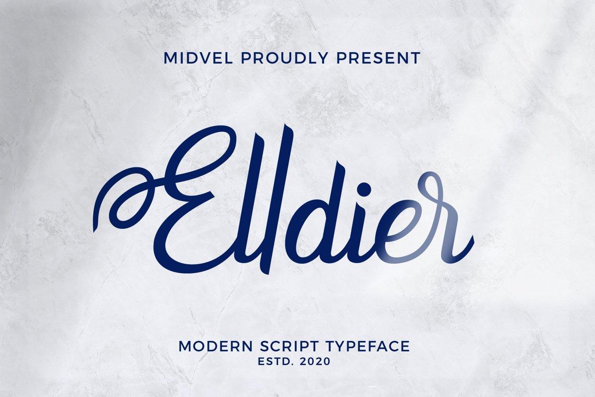 Elldier-Font