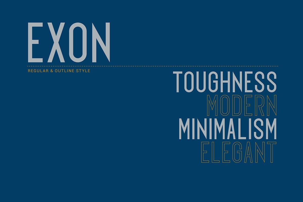 Exon-Font-2