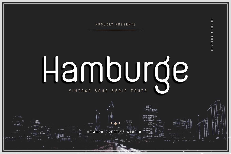 Hamburge-Font