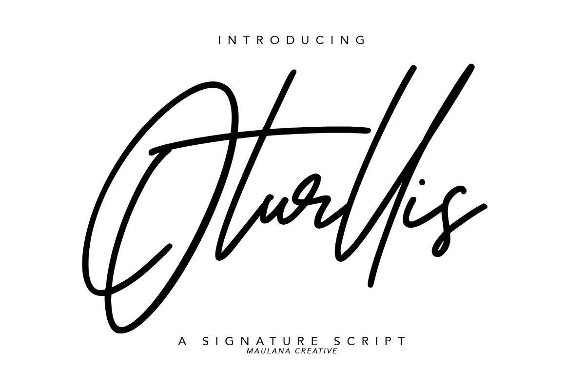 Oturllis-Font