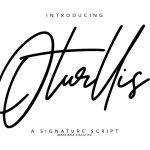 Oturllis Font