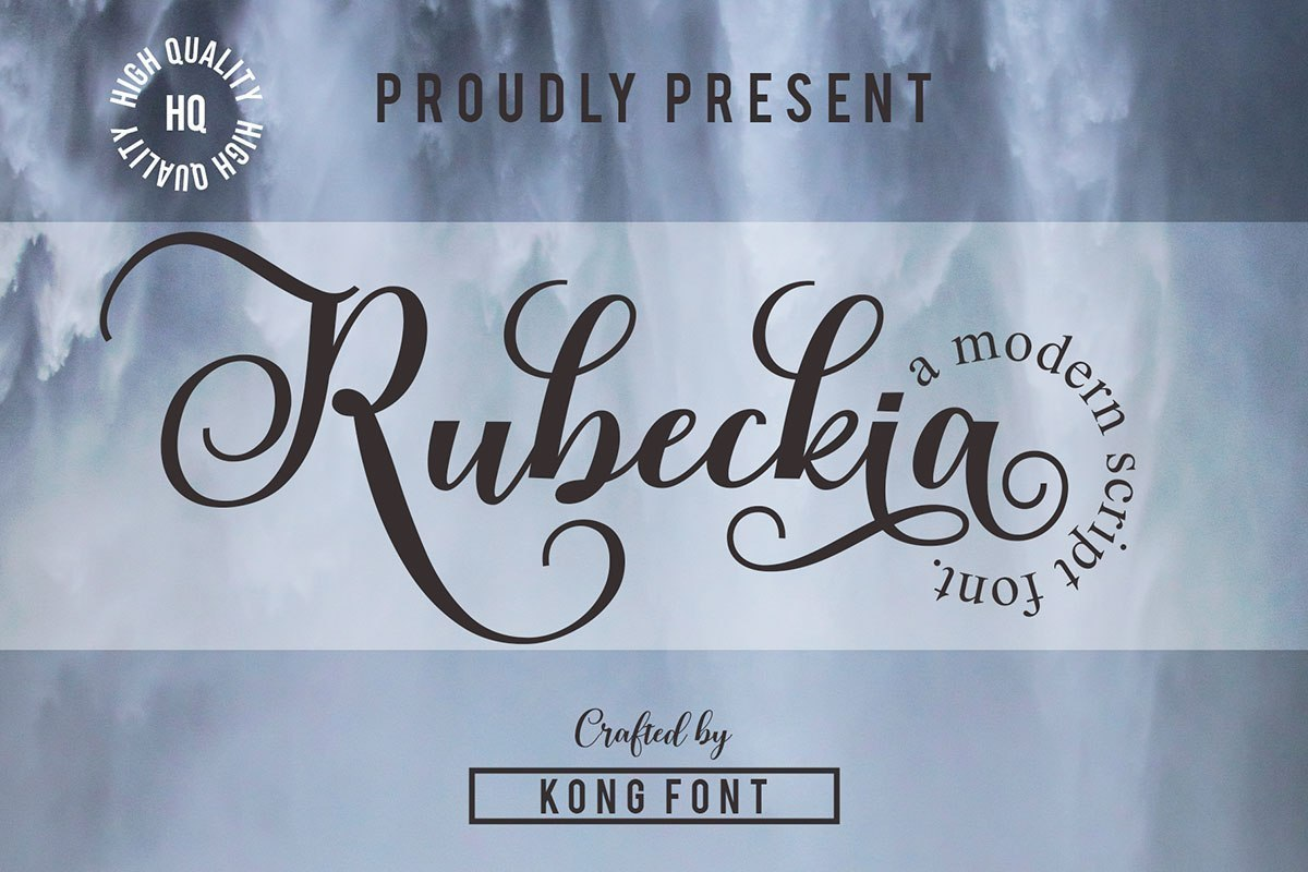 Rubeckia-Calligraphy-Font